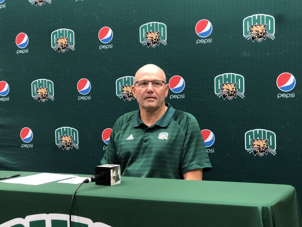 Tim Albin at his weekly press conference on Sept. 13, 2021.