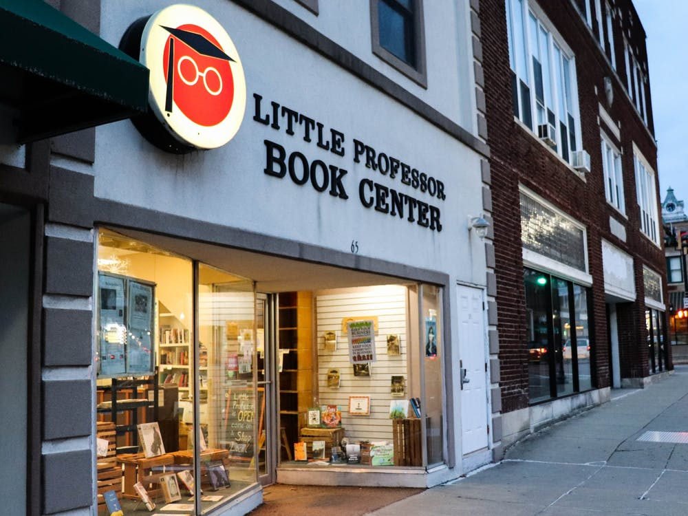 Little Professor Book Center on Court Street in Athens, Ohio.