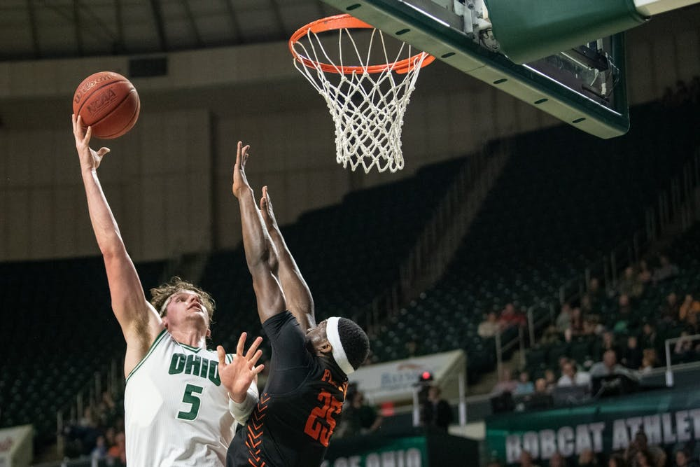 Men's Basketball: Ohio loses 83-74 to Bowling Green in second half collapse