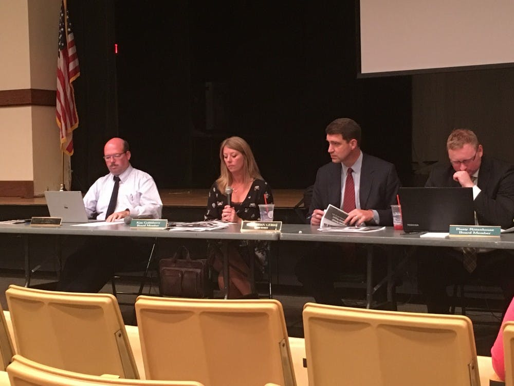 Athens City School District Board of Education further discusses sixth grade