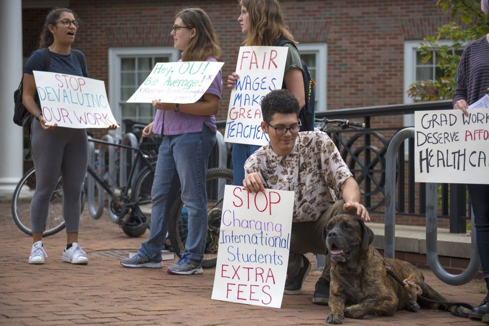 Report prompts administrative discussion about graduate student stipends