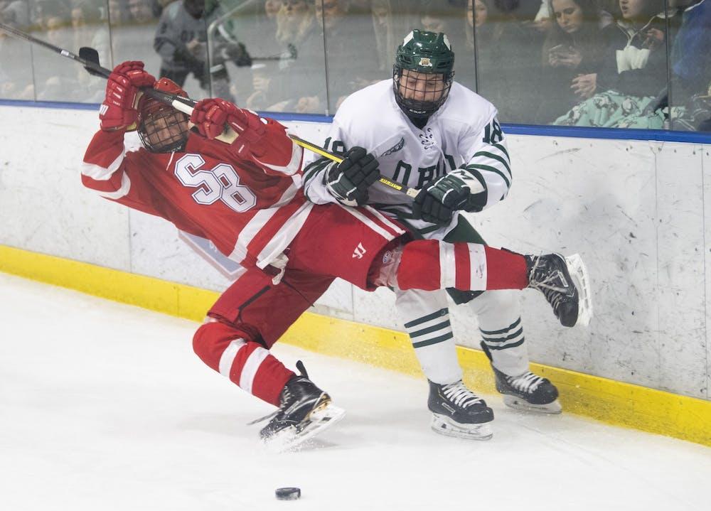 Hockey: Ohio sweeps Stony Brook after 3-1 win