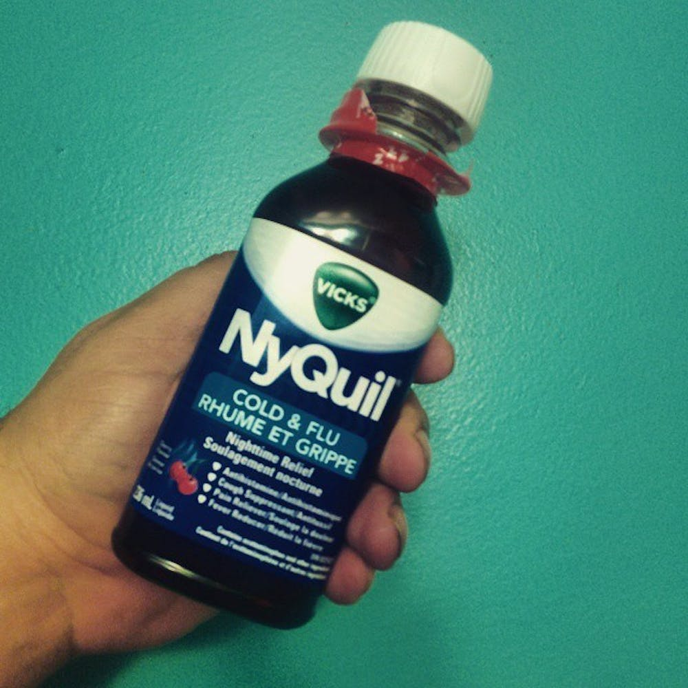 NyQuil made me miss my first ever college class, don't be like me