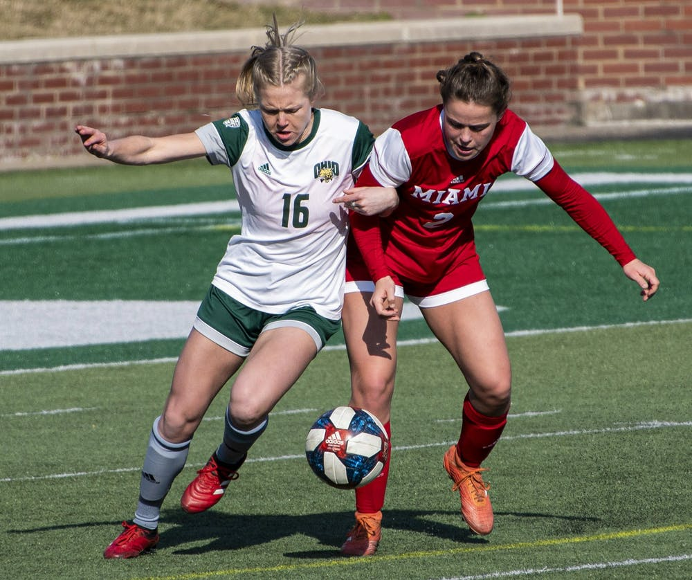 Soccer: Ohio dominates Akron 3-0 to earn its first win of the season