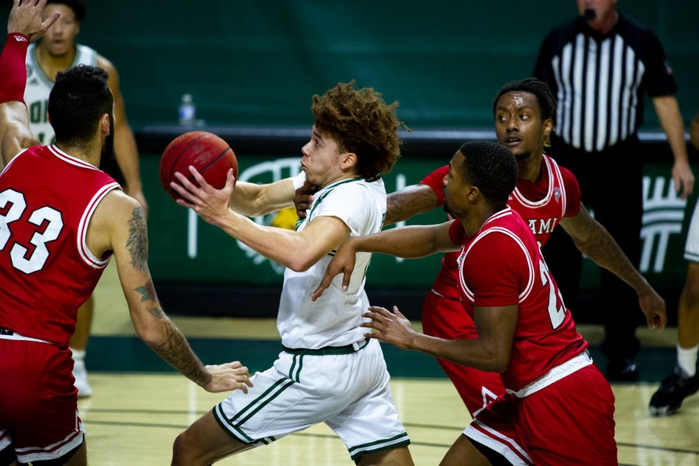 Men's Basketball: Jason Preston's return lifts Ohio to 78-61 win over Miami