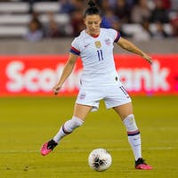Ali Krieger shined during the U.S. women's national team's game against Costa Rica. (Photo provided via @alikrieger on Instagram)