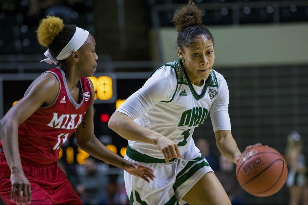 Women's Basketball: Ohio loses 62-59 against Akron, ends regular season on three-game losing streak