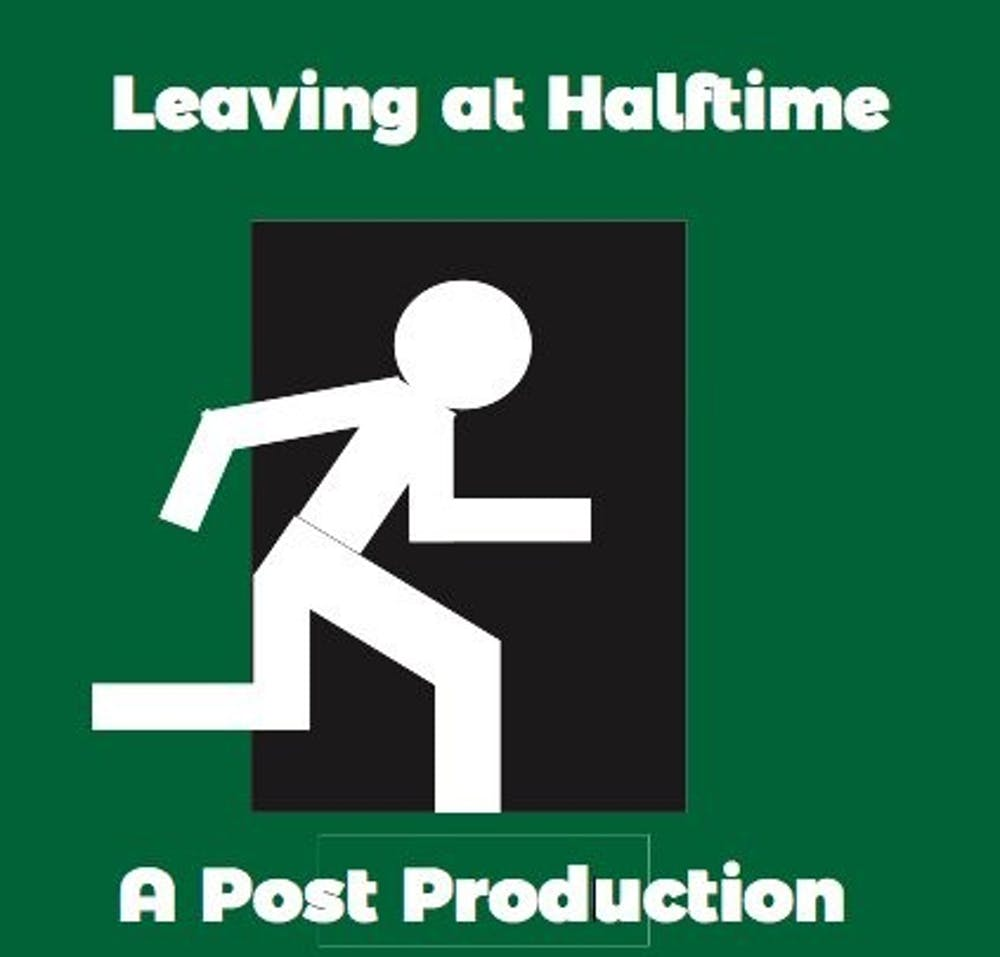 Leaving at Halftime Episode 49: Don't swear in front of grandma with Trevor Colgan