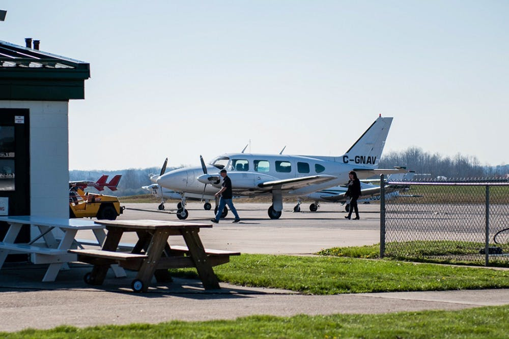 Strange airplane lands at OU airport and draws attention of Homeland Security
