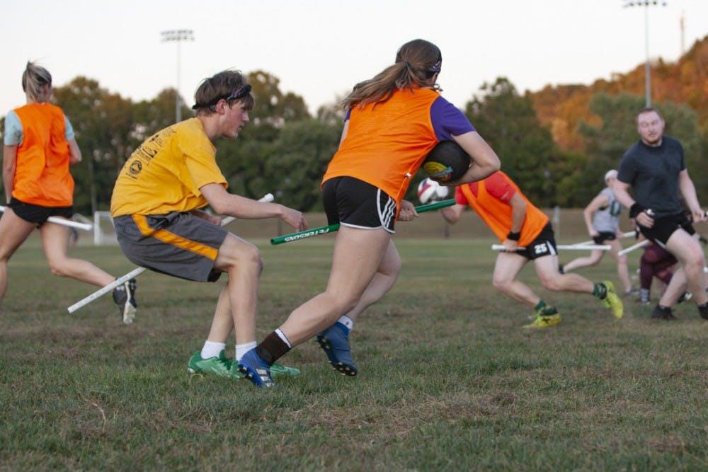 Several OU clubs take advantage of outdoors