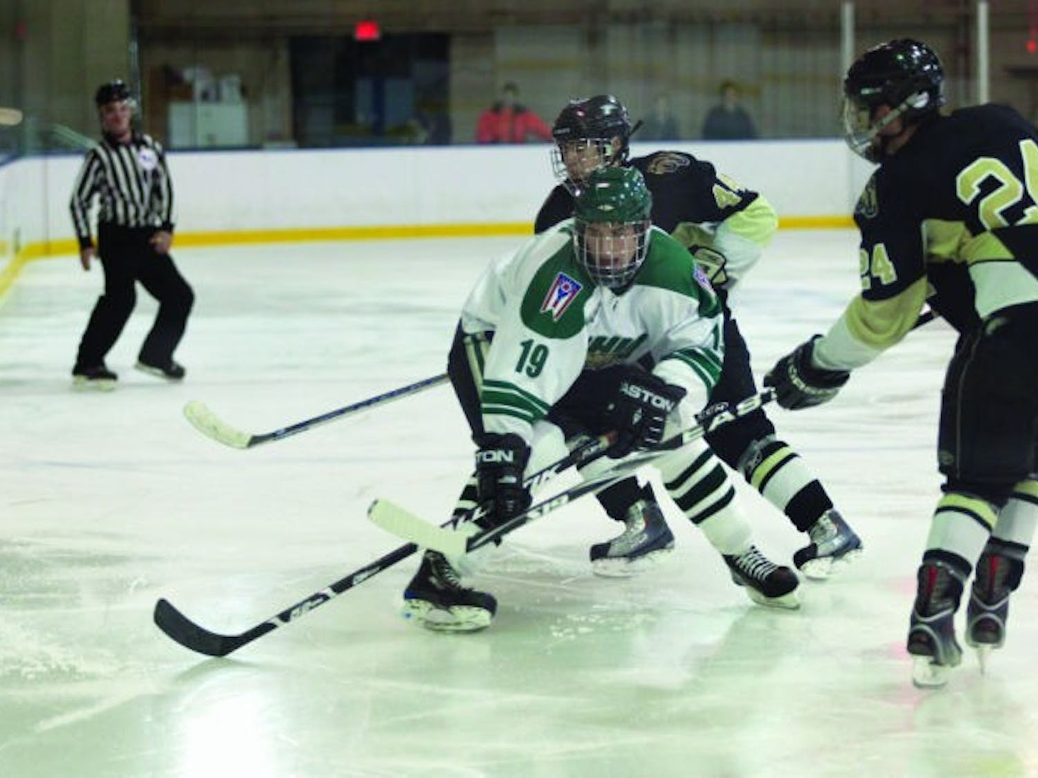 Hockey: 'Way of life' guides freshman to Athens