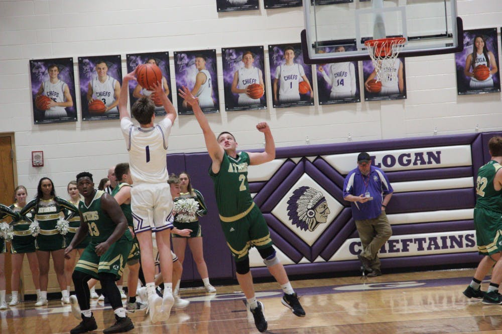 Athens Basketball: Logan outpowers Athens behind career night from Bo Myers