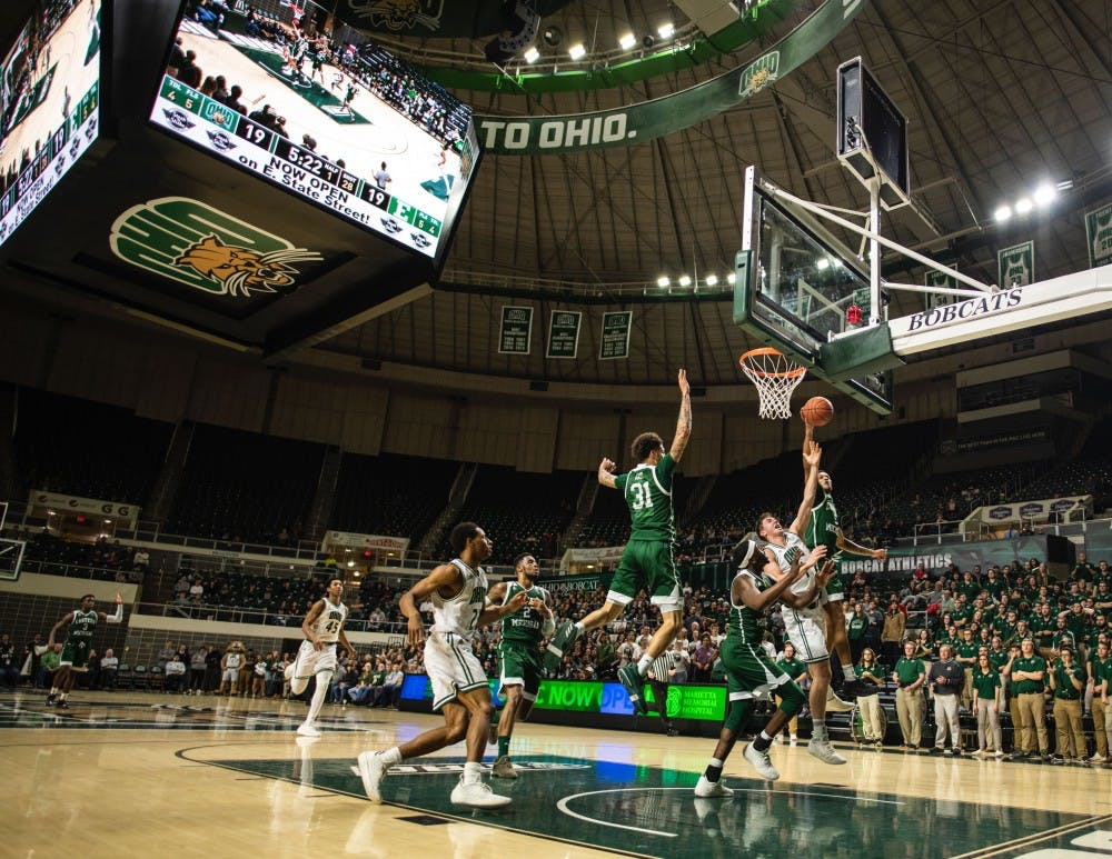 Men's Basketball: Ohio loses fourth straight in 66-57 loss to Eastern Michigan