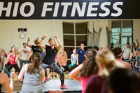Group fitness instructor Miranda Vandagriff, a senior perusing a Bachelor of Specialized Studies, finds that the new year brings in a large crowd to her evening classes. (BLAKE NISSEN | FOR THE POST)