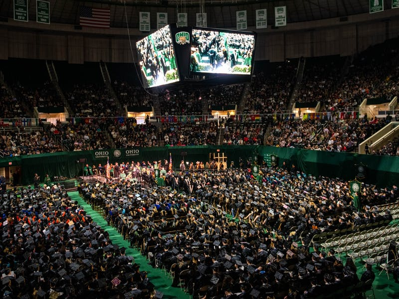 About 800 students received their diplomas at Fall Commencement on Saturday, Dec. 14, 2019.