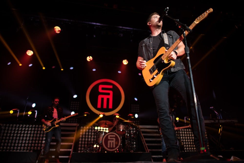 Scotty McCreery performs for a nearly sold-out MemAud crowd