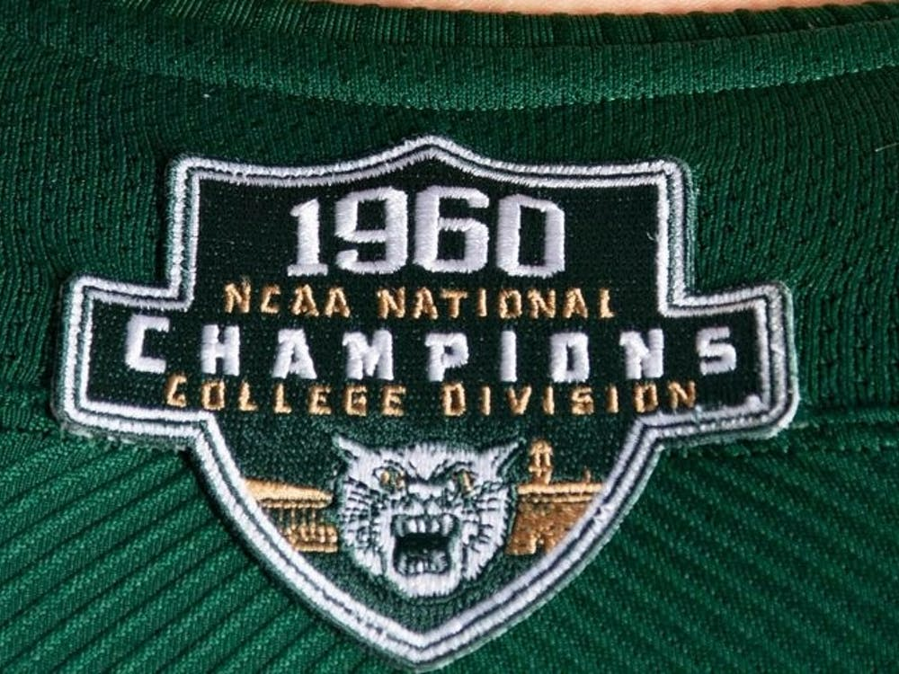 Ohio will commemorate its 1960 National Championship team with throwback uniforms on Saturday (Ohio Athletics)