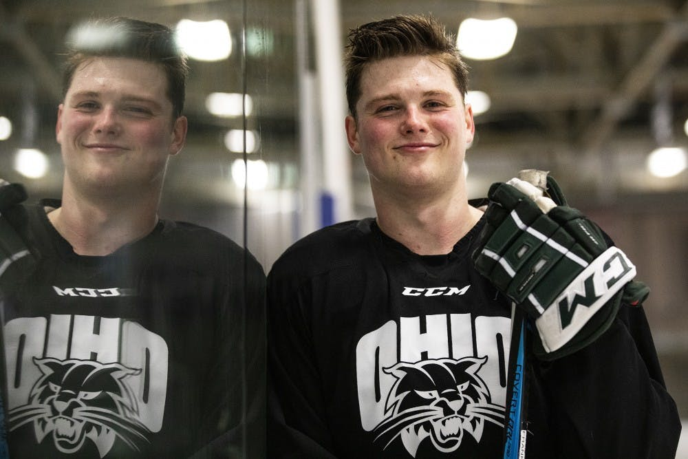 Hockey: From try out freshman to senior leader