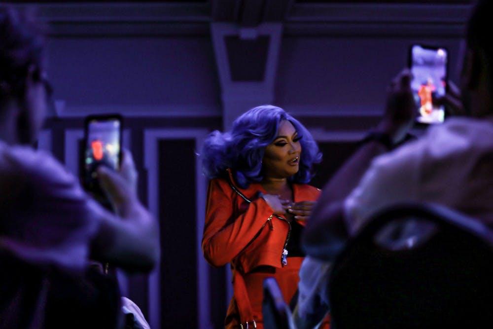Welcome Week showcases drag performances in Baker Ballroom