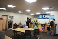The Academic Achievement Center, located on the second floor of Alden Library.