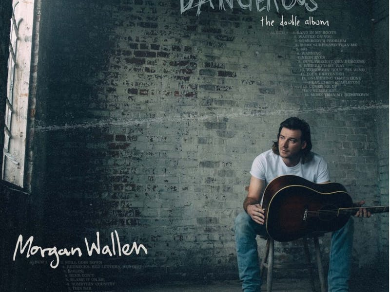 "Morgan Wallen ""Dangerous: The Double Album"" on Jan. 8, 2021. (Photo provided via @morganwallen on Instagram)"