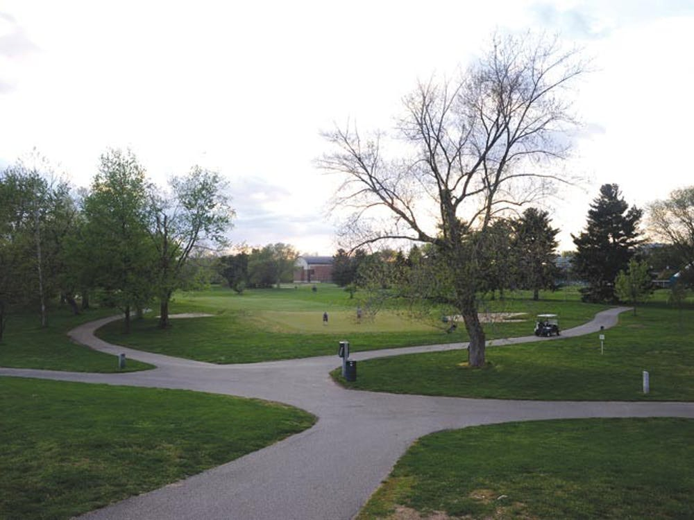 The Ohio University Golf Course hosts 2,000 rounds per month, used by students, area residents and both golf teams. About 40 Campus Recreation employs maintain the course. (FILE)