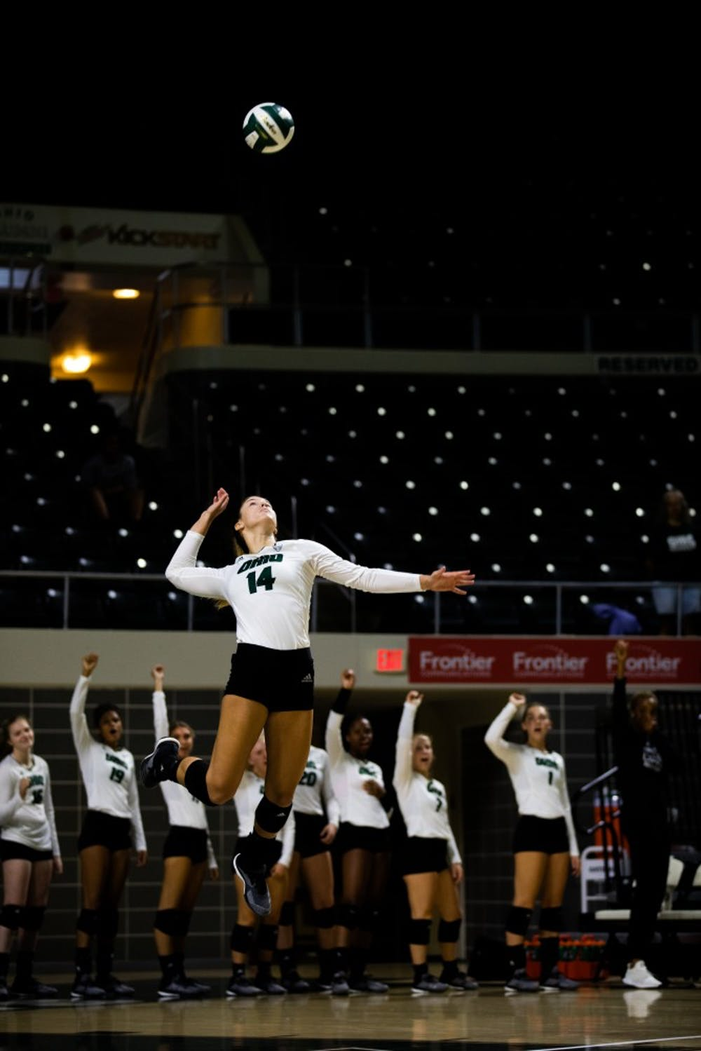 Volleyball: On Jaime Kosiorek's serve and how she's rediscovered it since an ACL injury in 2017