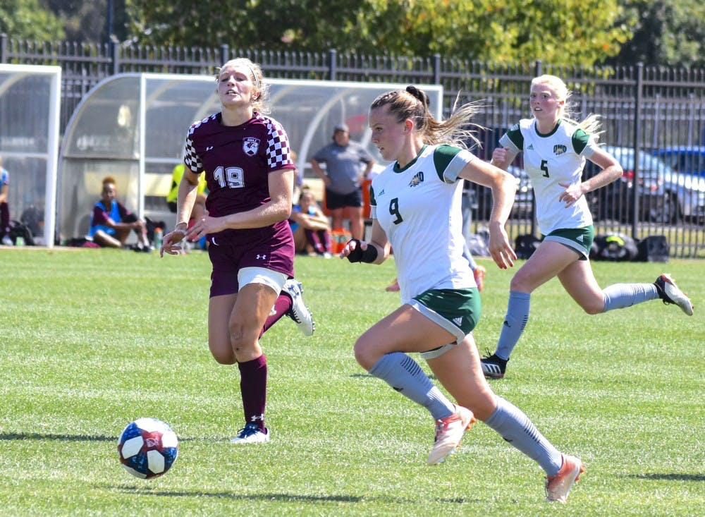 Soccer: Heather McGuire wins MAC co-Offensive Player of the Week