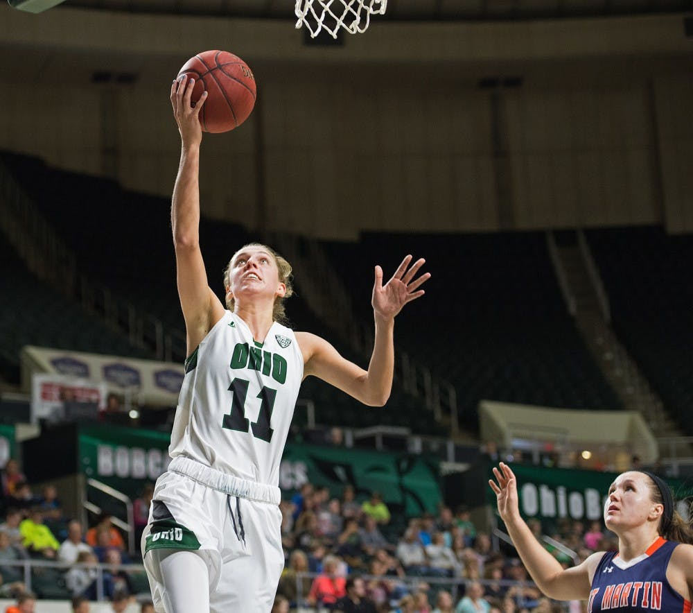 Women's Basketball: Former Ohio forward Kelly Karlis to transfer to Wisconsin