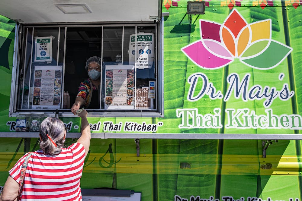 Dr. May's Thai Kitchen offers authentic Thai cuisine