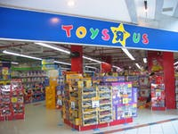 Toys R Us began liquidating its inventory to prepare for store closings this summer. (photo via Wikimedia Commons user Terence Ong)