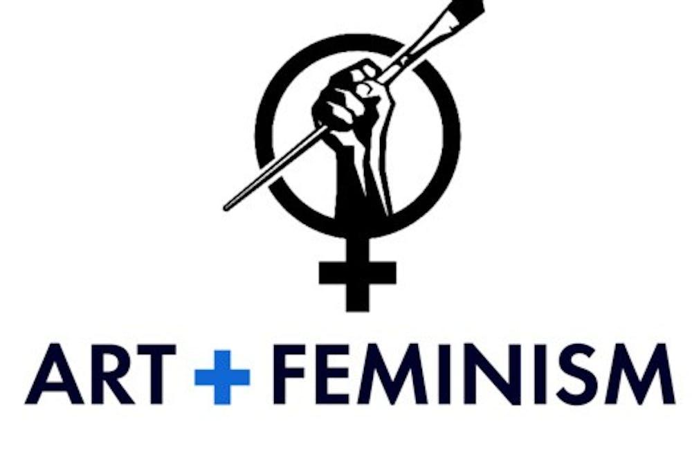 Ohio University Libraries hosted virtual Art+Feminism Wikipedia edit-a-thon
