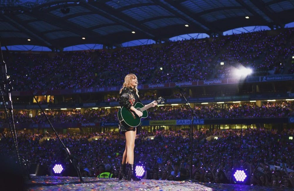 Concert Review: Taylor Swift enchants crowd with Ohio Stadium's largest production