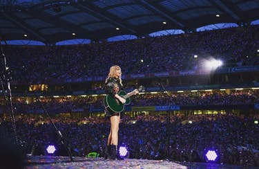 Taylor Swift brought fireworks, a bit of intimacy and more during her 19th concert in Ohio. (via @taylorswift on Instagram)