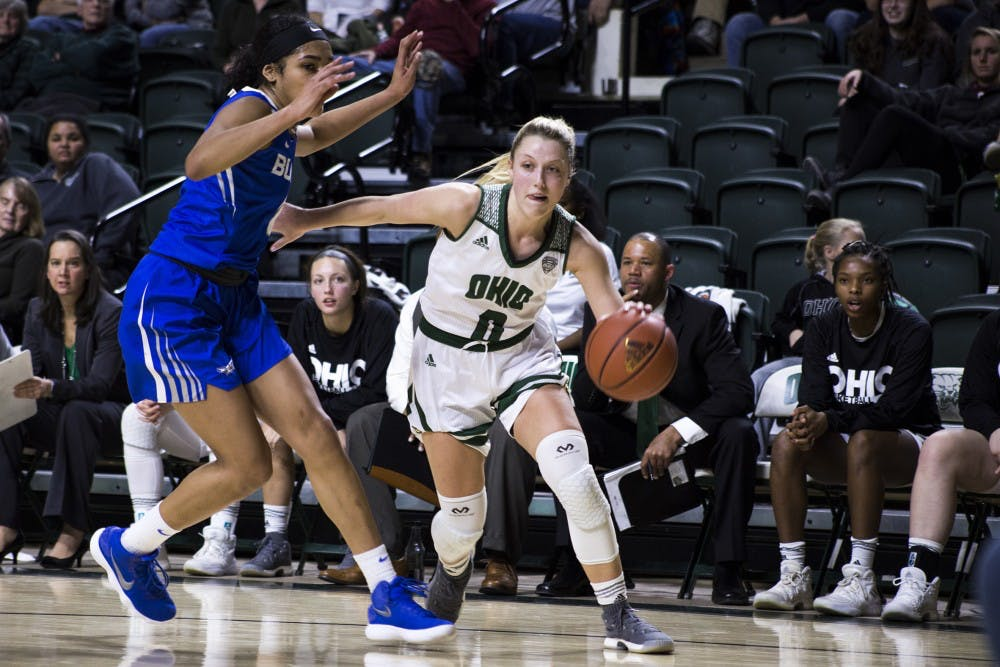 Women's basketball: Ohio knows NIU will play fast -- energetic defense will be the key