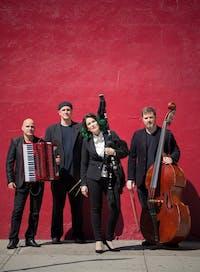 The Cristina Pato Quartet. Provided via Cristina Pato (www.cristinapato.com)