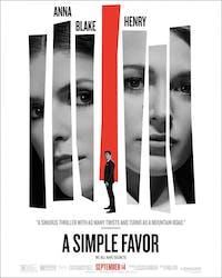 'A Simple Favor' was released Sept. 14. (via @asimplefavor on Instagram)
