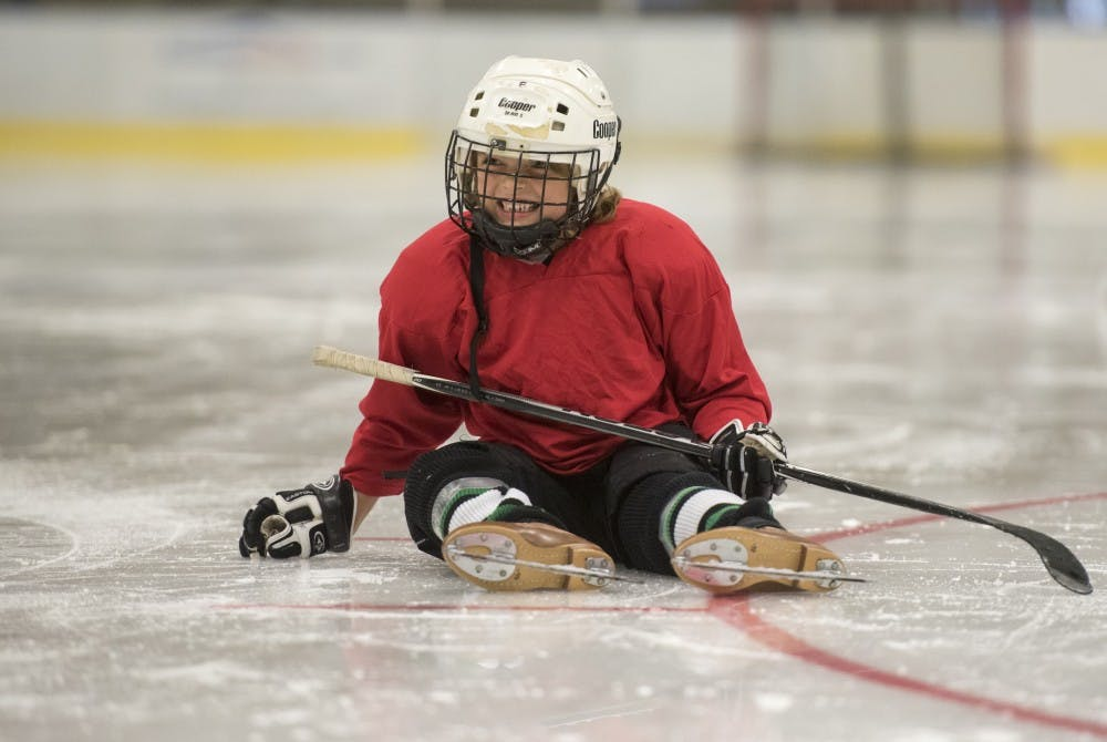 Not for just the boys: Girls Try Hockey, a program for young female hockey players