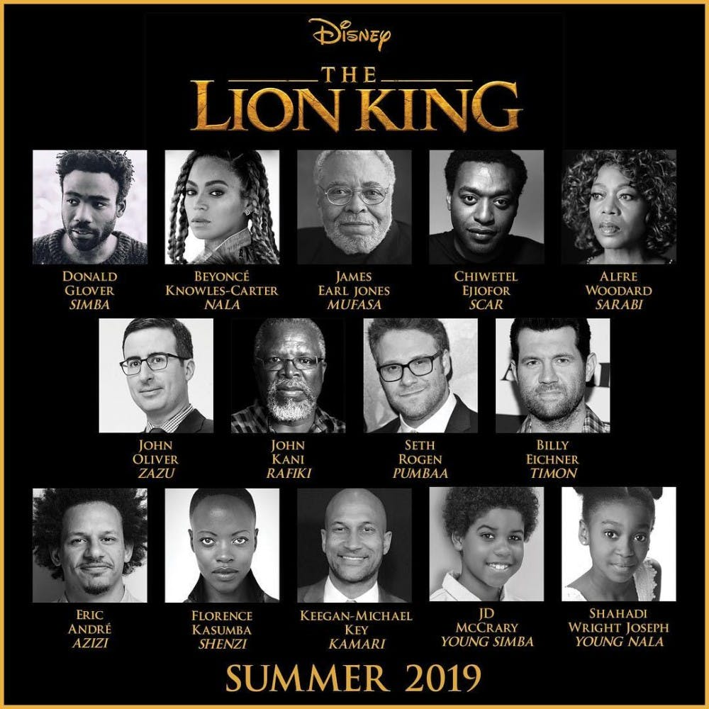 Fun News Friday: Live action 'Lion King' cast announced; OU prof makes way to BuzzFeed