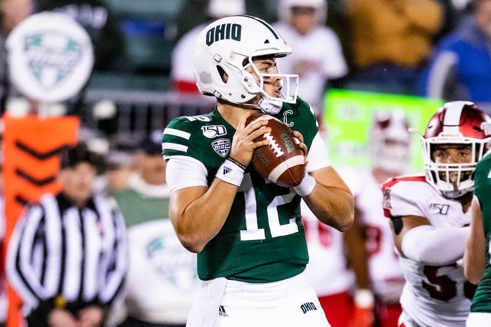 Football Ohio To Face Nevada In The 2019 Famous Idaho Potato Bowl The Post