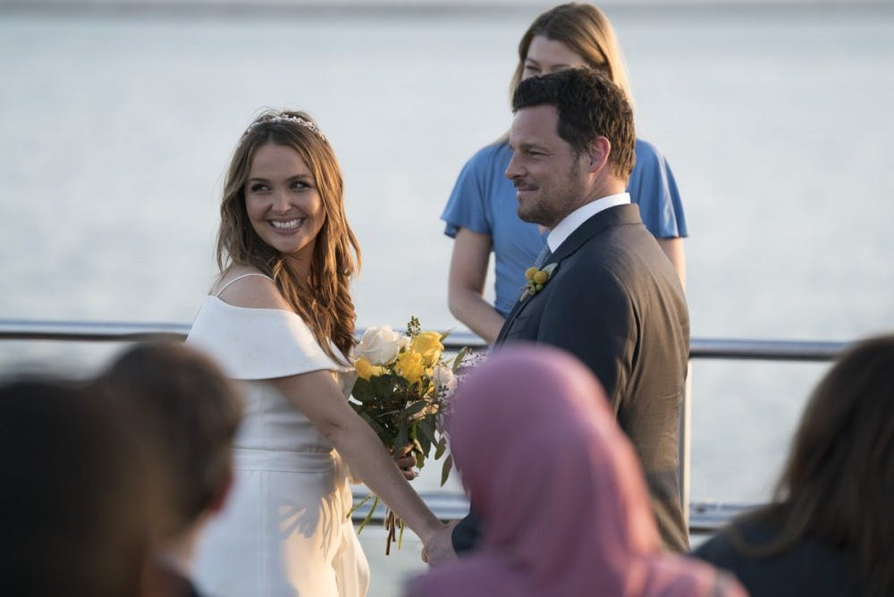 TV Recap: Two couples got married on \'Grey\'s Anatomy\' - The Post