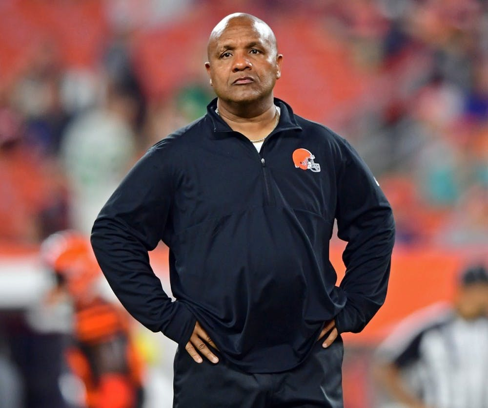 The Browns fired Hue Jackson — and of course people on Twitter had stuff to say