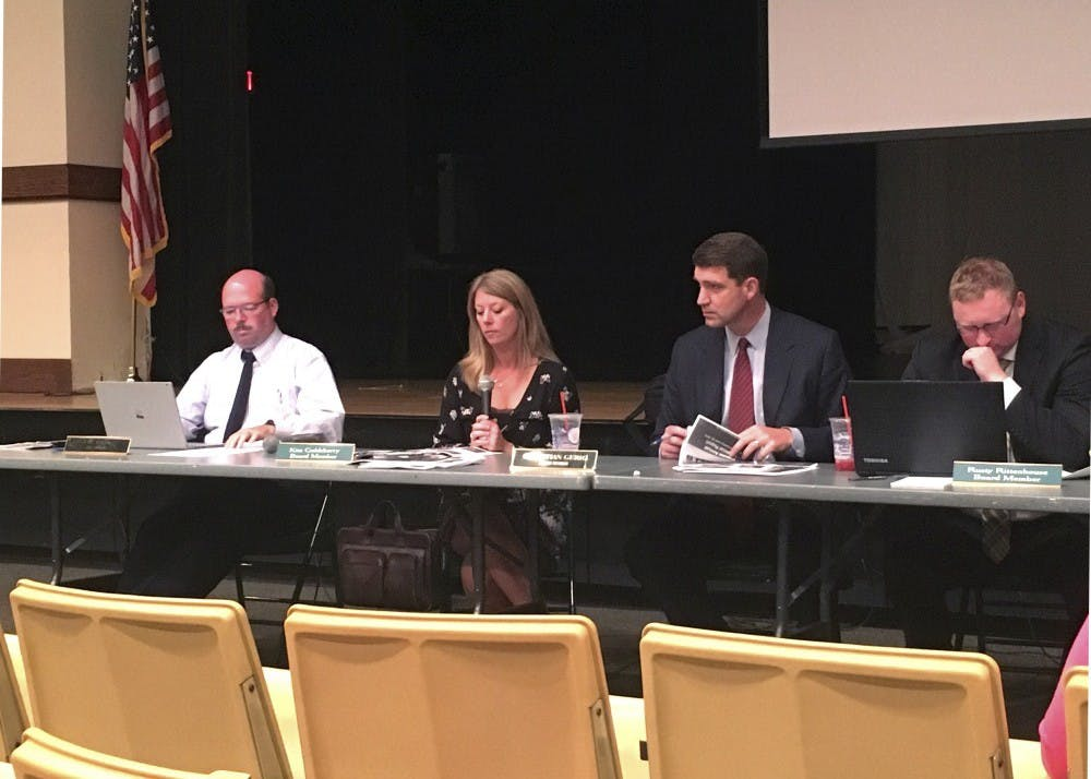 Athens City School District Board of Education receives costs for possible sixth grade move