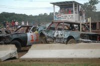 Photo of a past Demolition Derby taking place at the Athens County Fairgrounds. (Provided via Athens County Fair Facebook)