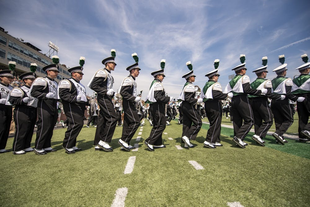 Why the Marching 110 is still allowed to play at athletic games under suspension