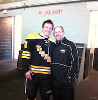 Cody Black (left) and his father, Jim. (provided via Cody Black)