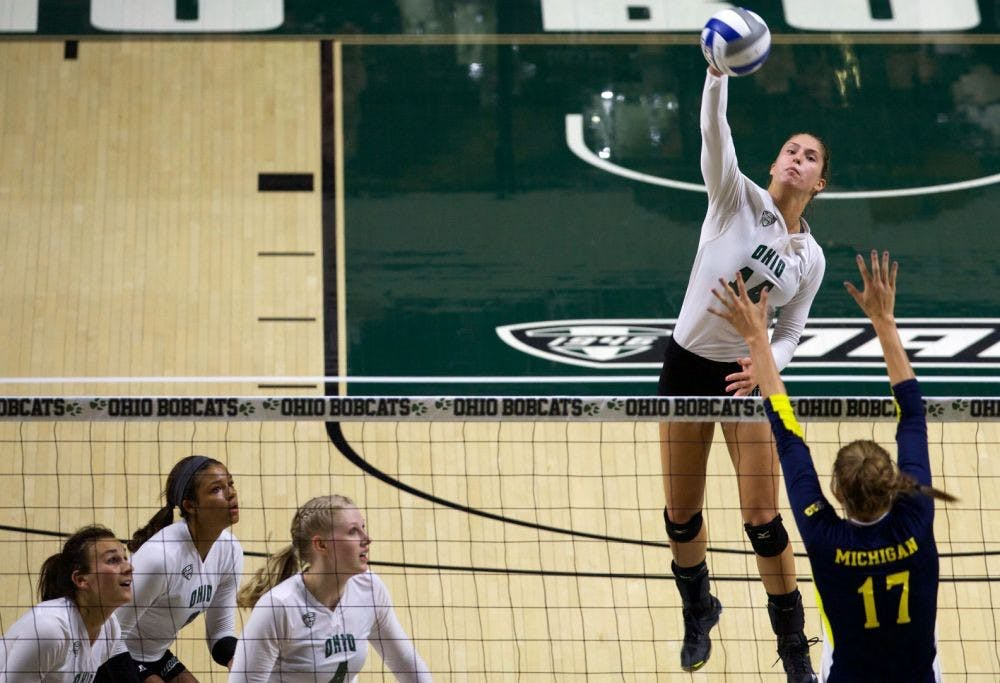 Volleyball: A look at the key non-conference matches for Ohio in 2018
