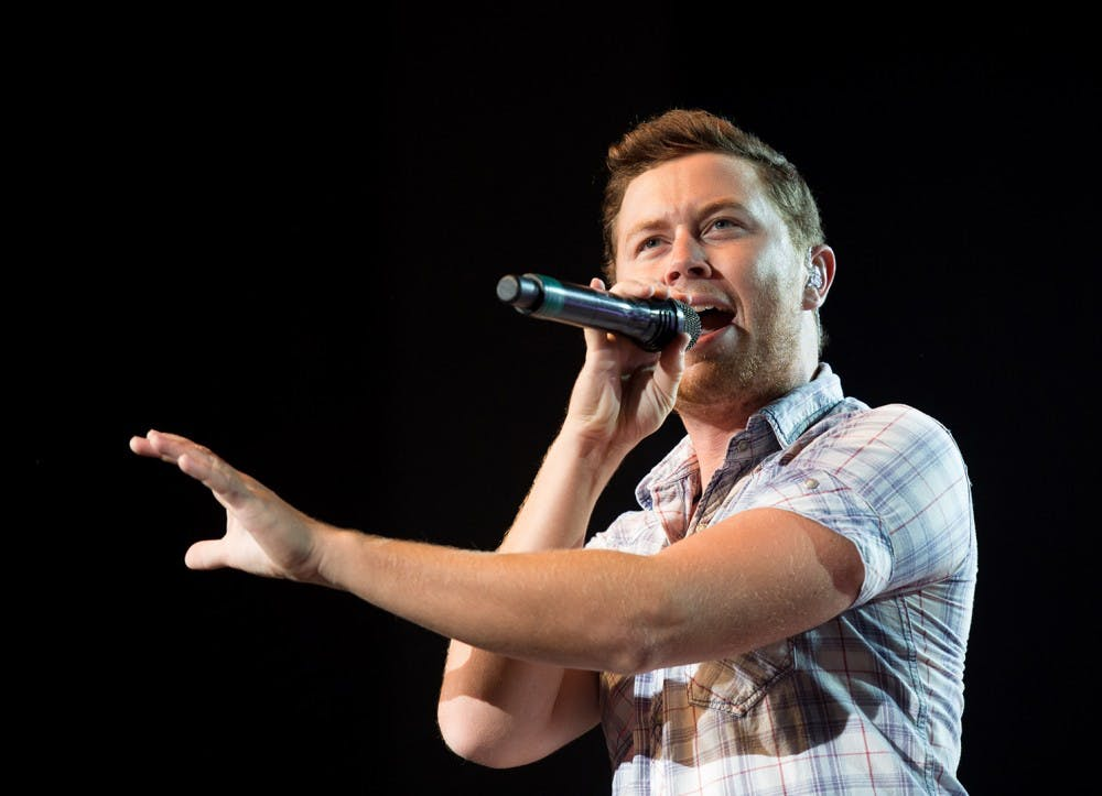 Scotty McCreery to perform in MemAud on Friday