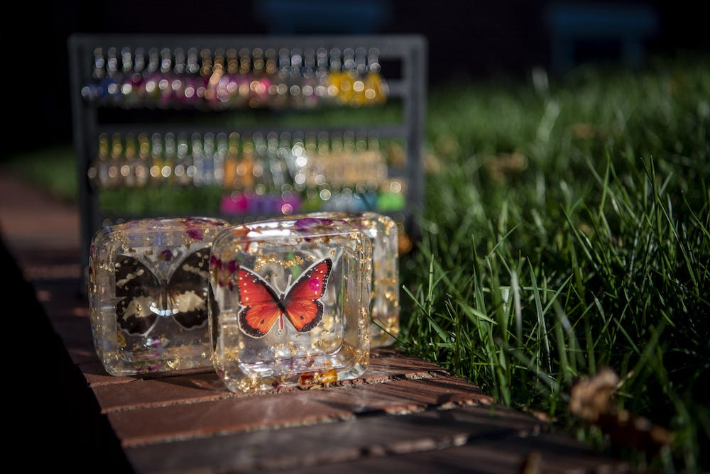 Local resin artist creates whimsical, handcrafted pieces