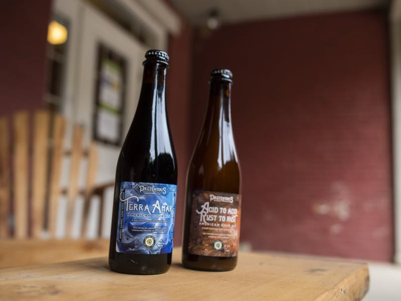 Pretentious Barrel House, a Columbus-based brewery, collaborated with Helping Hops and created two beers to benefit Rural Action in Athens, Ohio.